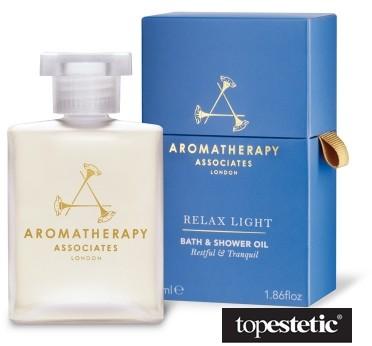 Aromatherapy Associates  Relax Light Bath Shower Oil Lekki relaksujący olejek do kąpieli i pod prysznic 55ml