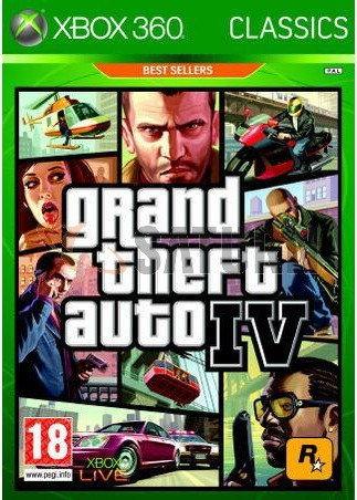 Grand Theft Auto 4 Classics Xbox 360