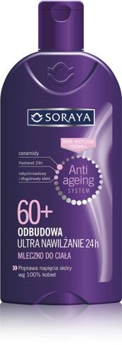 Soraya Anti Ageing System 60+ Mleczko do ciała ultra nawilżenie 24h 400ml