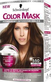 Schwarzkopf Permanent Intensive Color Mask 550 Złoty brąz