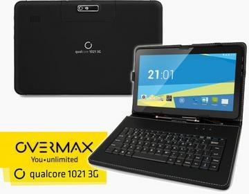 Overmax Tablet z klawiaturą 3G Qulcore 1021