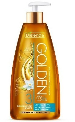 Bielenda Golden Oils Ultra Nawilżanie olejek do kąpieli i pod prysznic 250 ml