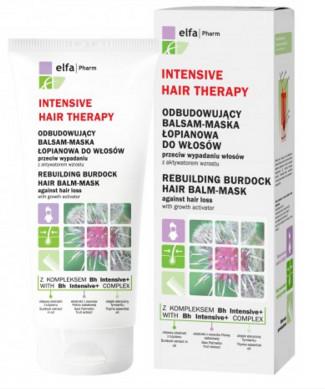 Elfa-Pharm Intensive Hair Theraphy - Odbudowujący Balsam - Maseczka łopianowa przec