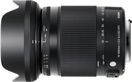 Sigma 18-300mm f/3.5-6.3 C DC MACRO OS HSM Pentax