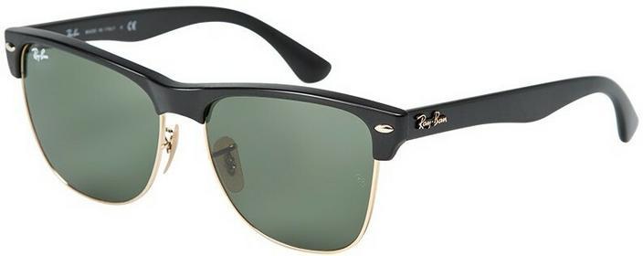 Clubmaster Okulary - Ray-Ban - Okulary Oversized czarny 0RB4175.877