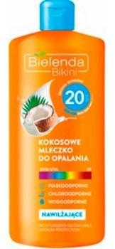 Bielenda BIKINI KOKOSOWE MLECZKO DO OPALANIA SPF 20, 200 ML 116165