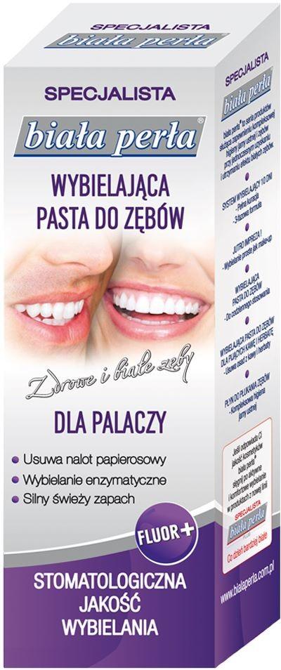 Vitaprodukt Sp. z o.o. Biała Perła PASTA DLA PALACZY 75 ml