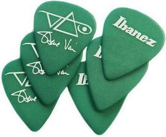 Ibanez B1000SV-GR - kostka gitarowa do gry, Steve Vai, zielone, 6szt.
