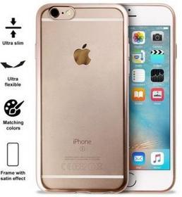 PURO Satin Cover Etui iPhone 6/6s Gold - IPC647SATINGOLD - IPC647SATINGOLD