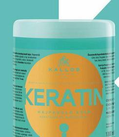 Kallos Keratin Hair Mask - Maska do włosów suchych i zniszczonych 1000ml