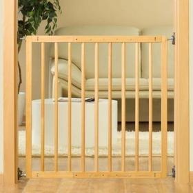 Reer Bramka ochronna na drzwi i schody Basic Simple-Lock drewnokolor natu