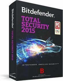 BitDefender Total Security 2015 (1 stan. / 1 rok) - Nowa licencja