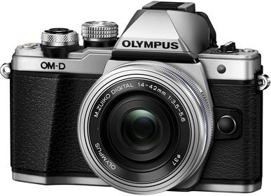 Olympus OM-D E-M10 Mark II + 14-42 mm II R srebrny