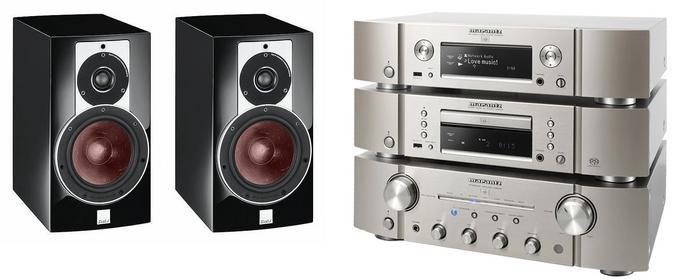 Marantz PM8005 + SA8005 + NA8005 + Dali Rubicon 2