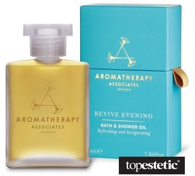 Aromatherapy Associates Revive Evening Bath Shower Oil Wieczorny pobudzający olejek do kąpieli i pod prysznic 55 ml