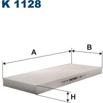 FILTRON Filtr kabinowy K1128