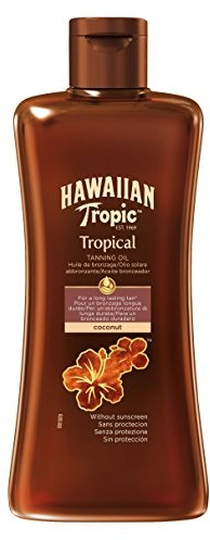 Hawaiian Tropic Tanning Oil bez LSF, 200ML 84784
