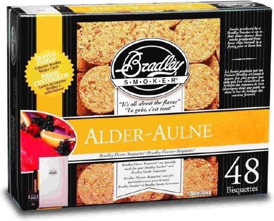 Bradley Smoker Brykiety a - Olcha BTAL48