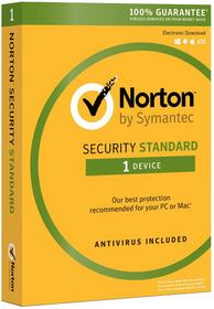 Symantec Norton Security Standard 2016 (1 stan. / 1 rok) - Nowa licencja