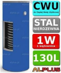 CHEŁCHOWSKI 130L 1-Wężownica Nierdzewka, 1W Zbiornik Zasobnik Wymiennik Bojler,