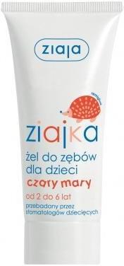 Ziaja Ziajka Żel Do Zębów Dla Dzieci Czary Mary 50Ml