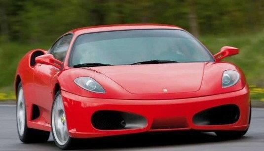 Jazda Ferrari F430 - kierowca - Poznań - 4 okrążenia (tor kartingowy)