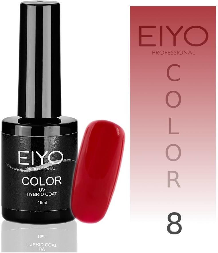 EIYO Lakier hybrydowy, Elegance - Czerwień Malina -8 - 15ml