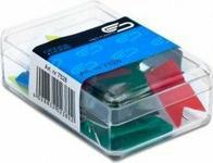Opinie o E&D PLASTIC SZPILKI chorągiewki 34mm kolorowe 20 sztuk 9966
