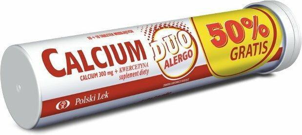 Polski Lek Calcium Duo Alergic