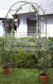 LAGIS PERGOLA OGRODOWA dla roślin ŁUK zielona