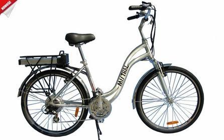 Interbike MISTRAL SD 2017 Srebrny