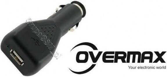 Prestigio Ładowarka samochodowa Overmax 1,5A 3450 3502 5503 5550 CAROV003