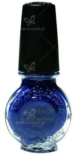 Konad Lakier do wzorków - niebieski - 11 ml