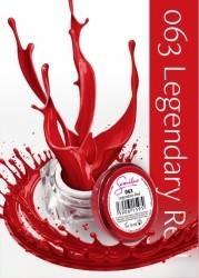 Semilac UV Gel Color 063 Legendary Red 5ml