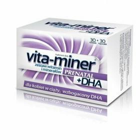 Aflofarm Vita-miner Prenatal DHA 30 szt.