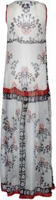 House of Wilde BAREFOOT GIRL długa sukienka biały HW121C00F-917
