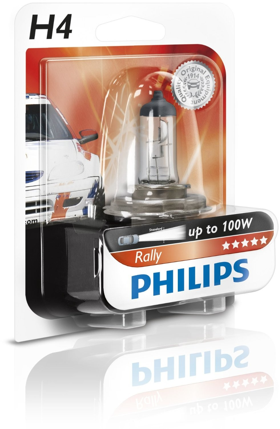 Philips H4 12V 100/90W P43t-38 Rally for off-road only