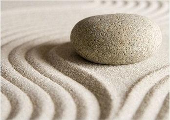 Zen stone - Obraz, reprodukcja