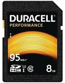 Duracell SDHC Class 10 UHS-1 8GB