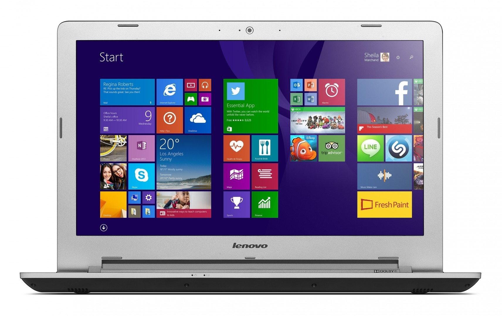 "Lenovo IdeaPad Z51-70 15,6"", Core i7 2,4GHz, 4GB RAM, 1000GB HDD + 8GB SSD (80K6018RPB)"