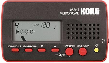 Korg MA-1 - cyfrowy, czerwono-czarny TUMA1BK