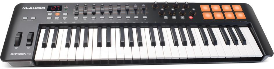 M-AUDIO Oxygen 49 IV - klawiatura sterująca