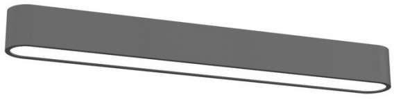 Nowodvorski plafon LAMPA sufitowa SOFT 6990 prostokątna OPRAWA metalowa IP20 gra