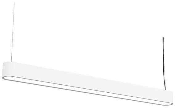 Nowodvorski LAMPA wisząca SOFT 6981 prostokątna OPRAWA metalowa zwis IP20 belka
