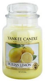 Yankee Candle Sicilian Lemon 623 g Classic duża świeczka zapachowa