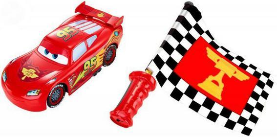 Mattel Cars Sterowany Zygzak Mc Queen Zabawka DPL07 DPL07