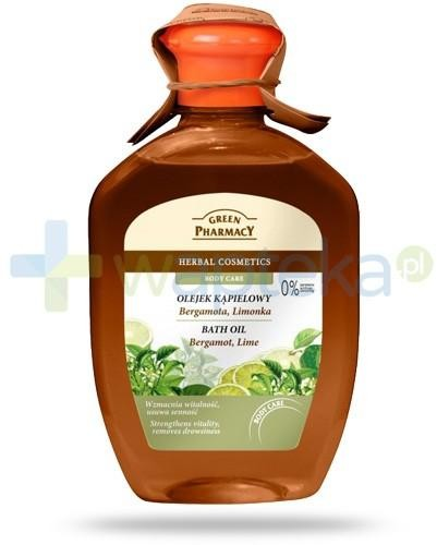Green Pharmacy PHARM POLSKA Green Pharmacy olejek kąpielowy bergamotka limonka 250 ml Pharm 7050101