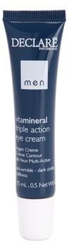 Declare Men Vita Mineral krem pod oczy przeciw zmarszczkom opuchnięciom i cieniom pod oczami 15 ml