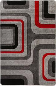 dywany tureckie Szare Kwadraty Viola