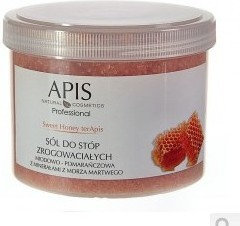 Apis Sweet Honey terApis sól do stóp zrogowaciałych 650g